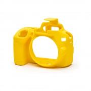EasyCover Carcasa Protectie pentru Nikon D3500 Galben