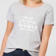 The Mother Collection I Live In A Mad House Women's T-Shirt - Grey - L - Grey