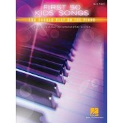 First 50 Kids' Songs You Should Play on Piano, Paperback/Hal Leonard Corp