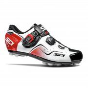 Sidi Cape MTB Shoes - White/Black/Red - EU 47 - White/Black/Red
