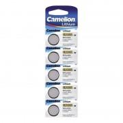 CAMELION PILA BOTON LITIO 3V CR2032 LARGA DURACION (PACK x5)