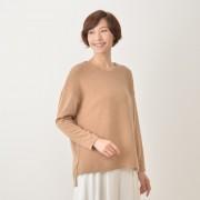 STO:R STO:R 編地ミックスプルオーバー【QVC】40代・50代レディースファッション