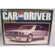 """Revell 7454 """"Car And Driver"""" Series Bmw 323i 1/24 Scale Plastic Model Kit"""