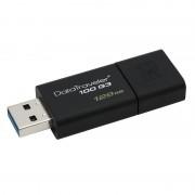 Memorie USB Kingston DataTraveler 100 G3 128GB USB 3.0 Black