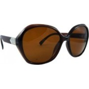 Els Over-sized Sunglasses(Brown)