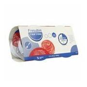 2 Kcal Crème suplemento hipercalórico hipeproteico sabor morango 4x125g - Fresubin