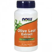 Екстракт от маслинови листа - Olive Leaf Extract 500 мг. - 60 капсули - NOW FOODS, NF4723