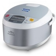 Kent 16012 Electric Rice Cooker with Steaming Feature(1.8 L, Grey)