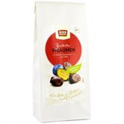 Prune Glazurate in Ciocolata Neagra Bio 100gr Rosen Garten