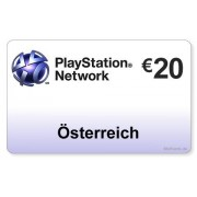 Sony (AT) PlayStation Network PSN Card 20EUR