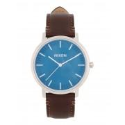 メンズ NIXON A105 PORTER LEATHER 腕時計 ダークブルー