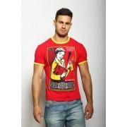 EPATAGE Мужская футболка яркая красного цвета «ОБИ СПРЭЙ» EPATAGE 040694m-EP