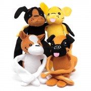 Baker Ross Dog Hanging Plush Pals (Pack of 4)