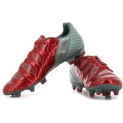 Puma evoPOWER 2.2 Graphic FG Football Shoes For Men(Grey, Red)