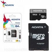 Memoria Micro SD _64GB Adata UHS-I premier Clase 10