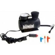 Mini compresor aer cu manomentru mecanic 300 PSI priza auto 12V