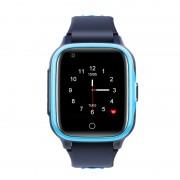Ceas Inteligent pentru copii WONLEX KT15 4G Albastru, cu GPS, apelare video, rezistent la apa, localizare WIFI si monitorizare spion