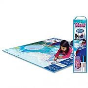 Huge Disney Frozen Reusable Floor Mat (3 ft x 4 ft)