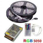 Akciós LED szalag szett 10 méter RGB