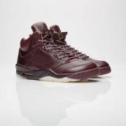 Brand Jordan air jordan 5 retro premium Bordeaux/Bordeaux/Sail/Elemental Gold