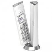 Безжичен DECT телефон Panasonic KX-TGK210EXW - бял, 1015148_1
