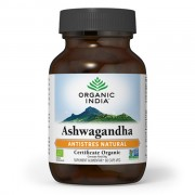 Ashwagandha - Antistres Natural, Organic India 60 cps veg