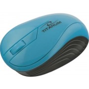 Mouse Esperanza Titanum Neon, Wireless (Turcoaz)