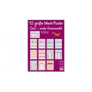 Verlag an der Ruhr 12 grosse Merk-Poster DaZ - erste Grammatik