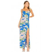 Privacy Please x REVOLVE Tyler Maxi in Blue. - size XS (also in L,M,S,XL)