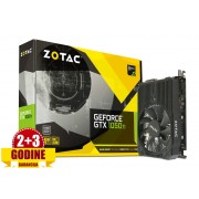 Grafička kartica GeForce GTX1050Ti Zotac Mini 4GB DDR5, HDMI/DVI/DP128bit, ZT-P10510A-10L