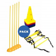 Pack A-1 Multi Agilidad - Escalera + Conos + Sticks + Bases