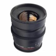 Samyang 24mm T1.5 Canon VDSLR - Cine Lens