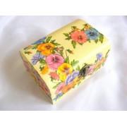 Cutie din lemn natural 27364