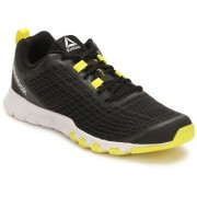 Reebok Mens Black Yellow Sport Shoes