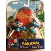The Smurfs - Papa Smurf and Brainy Smurf