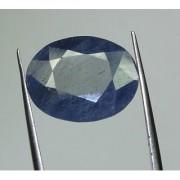 Fedput 8.25 Blue Sapphire Neelam Gem Stone for Daily Use