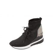 MICHAEL Michael Kors Sock Sneaker mit Glitter-Effekt und Keilabsatz