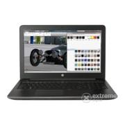 Laptop HP Zbook 15 G4 Y6K27EA, negru + Windows 10 Professional, layout tastatura HU