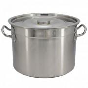 Казан с капак SAPIR SP 1211 B35S, 37 см, 24.5 литра, Неръждаема стомана
