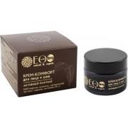 Comfort crème met anti-oxidanten en vitaminen voor gezicht en nek, verjongt, anti-age, biologische creme, rimpels, rijpere huid