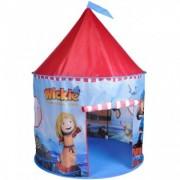 Cort de joaca pentru copii Wickie Castel