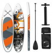 KLARFIT Set de tabla de remo inflable Maliko Runner para SUP 305x10x77 Naranja (WTR1-MalikoRunnerO)