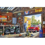 Puzzle Gibsons - Daddy's Little Helper, 500 piese (65087)