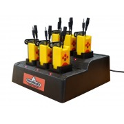 Caricabatterie 6 posizioni per Amplibox VocalVest