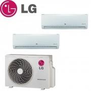 LG Climatizzatore Condizionatore Lg Dual Split Inverter Standard 7000+9000 Con Mu2m15 Ul3