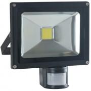 Refletor Led 50w Com sensor de presença - Super preço!