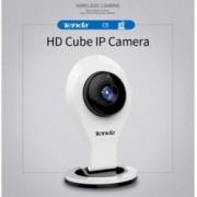 Уеб камера TENDA C5, микрофон, 720p HD 30fps, Wi-Fi връзка, бяла
