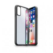 Cellular Line Contour - iPhone X 5.8'' Cover Grigio, Trasparente custodi