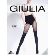 Heltäckande strumpbyxa i stay ups-look Pari 23 från Giulia nero L