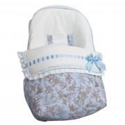 Saco Porta bebé Paseos de Toile Azul. (capota no incluida)